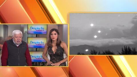 Imágenes increíbles de figuras y OVNIS en cielos mexicanos cerca de los...