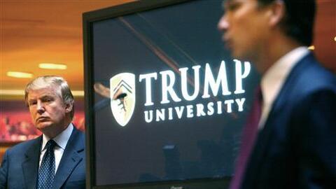 La Universidad Trump está bajo sospecha de haber operado sin licencia y...