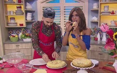 Jomari Goyso compartió su receta de 'Tortilla de Patata' y nos sorprendió