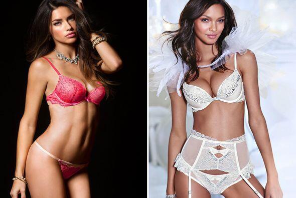 Adriana Lima y Lais Ribeiro han hecho dos sesiones en lencería, con las...