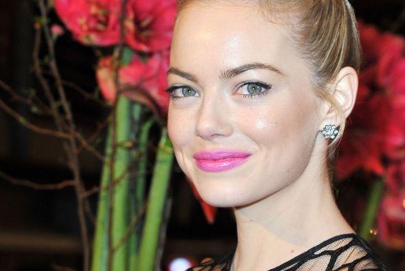 """27. Emma Stone Nuestra querida Gwen Stacy de """"Spider-Man"""". ¡Talentosa y..."""