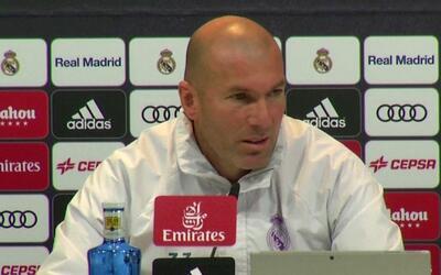 """Zinedine Zidane: """"No estoy preocupado y el vestuario tampoco"""""""