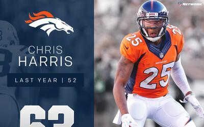#63 Chris Harris Jr. (CB, Broncos) | Top 100 Jugadores 2017