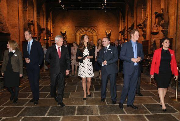 Así lucía el salón principal de Hogwart's.
