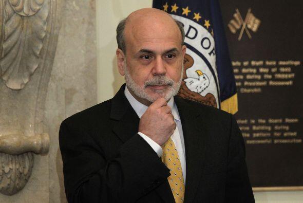 6. BEN BERNANKE  Puesto- Presidente de la Reserva Federal de Estados Uni...
