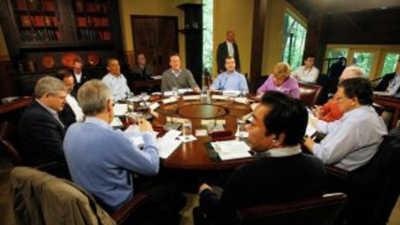 Los líderes del G8 exhortaron este sábado al gobierno sirio y a todas la...
