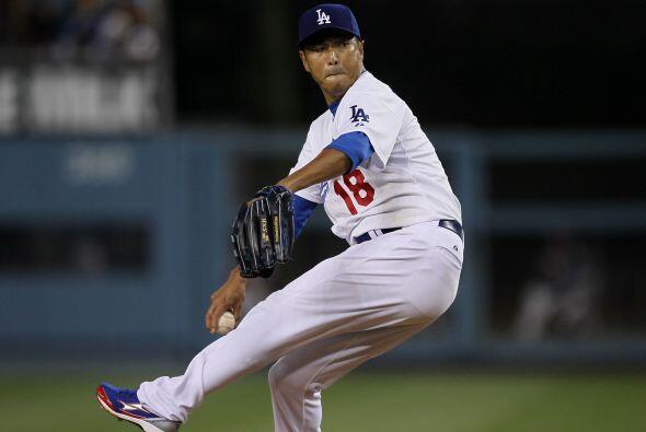 8. Hiroki Kuroda. Dodgers de Los Ángeles. El derecho no tiene una...