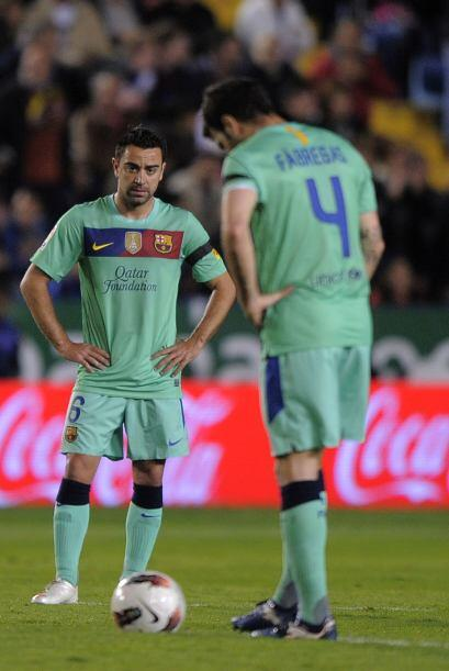 Al grado de que se marcó un penalti por mano de Sergio Busquets en el ár...