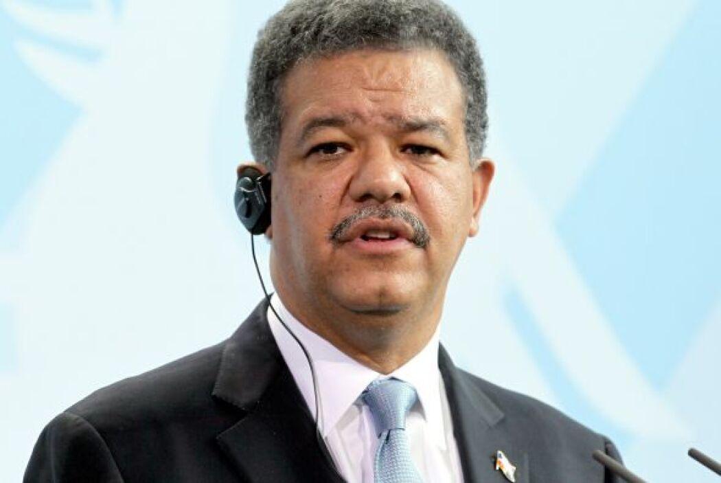 República Dominicana ganó el sexto lugar con su líder, Leonel Fernández...