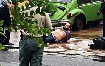 Nuevas imágenes de la balacera en el arresto de Ahmad Khan Rahmani