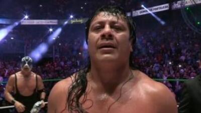 Atlantis destapó a Último Guerrero quien dijo llamarse José Gutiérrez He...