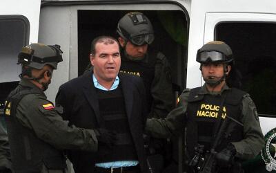 El narcotraficante venezolano Walid Makled fue extraditado de Colombia.