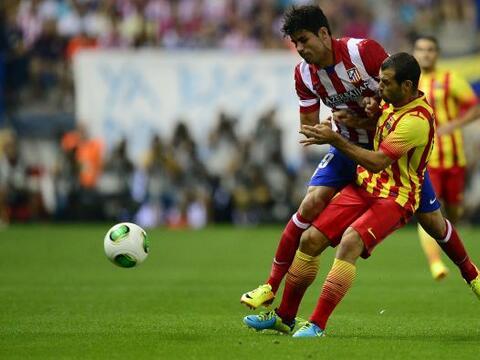 El ganador de la pasada Liga española, Barcelona, y el campeón de la últ...