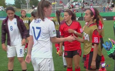México empata con Inglaterra en el Mundial Sub-20 femenino