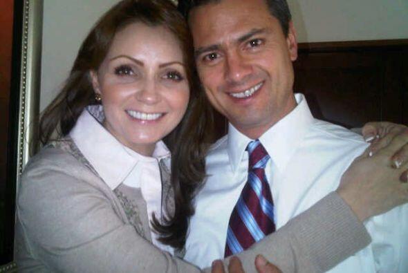 Actualmente Angélica está casada don Enrique Peña Nieto, el presidente d...
