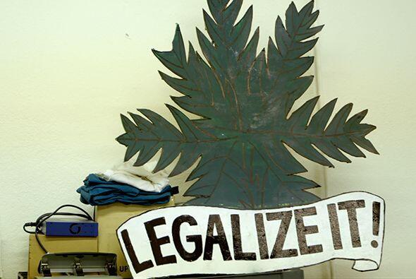 Pero para la mayoría de los gobiernos del mundo hoy en día, la marihuana...