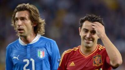 Pirlo y Xavi podría ser compañeros de equipo en el Medio Oriente.