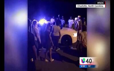 La muerte de un afroamericano desata una manifestación en Charlotte
