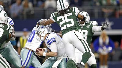 Jets 19-16 Cowboys: Los Jets vuelan a playoffs, hicieron escala en Dalla...