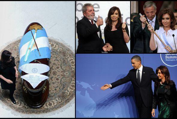 Cristina Fernández es una mujer que se maneja muy bien en el mundo de la...