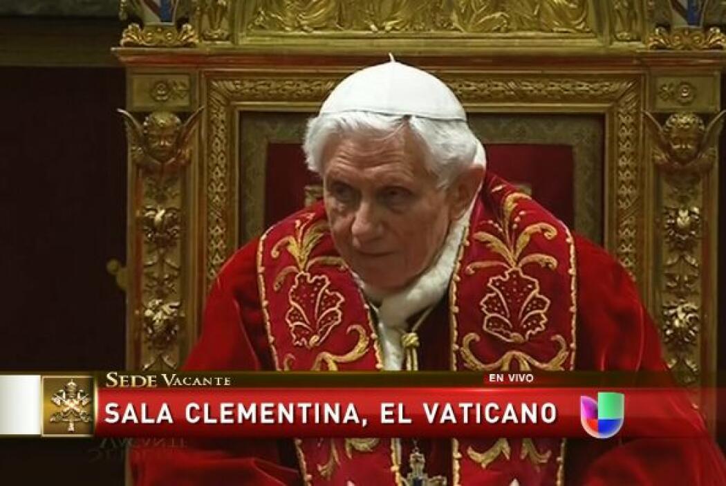 """Joseph Ratzinger prometió su """"obediencia"""" al nuevo Papa y dijo que les o..."""