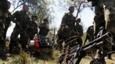 Las fuerzas colombianas de seguridad descubrieron en el suroeste del paí...