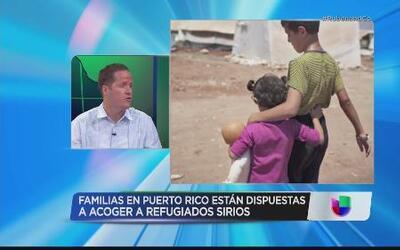 Puerto Rico listo para recibir refugiados sirios