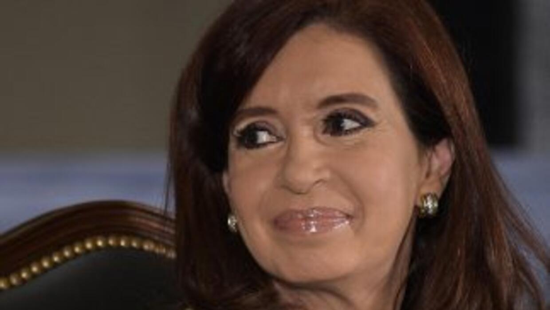 La presidenta argentina,Cristina Fernández de Kirchner.