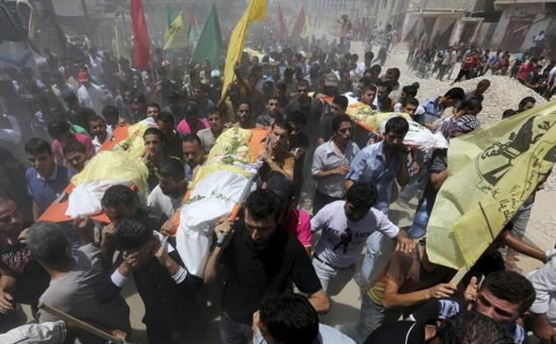 Aunque en Gaza dicen que la mayoría de los muertos y heridos son mujeres...