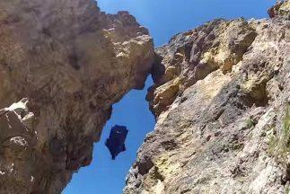 Saltar con traje wingsuit es supremamente peligroso. ¿Saltar con traje w...