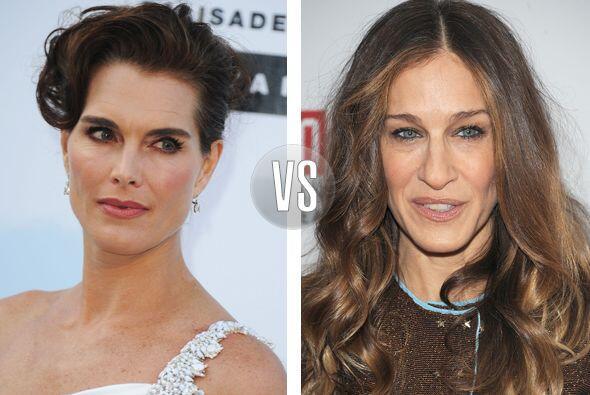 Brooke Shields y Sarah Jessica Parker son contemporáneas, tienen...