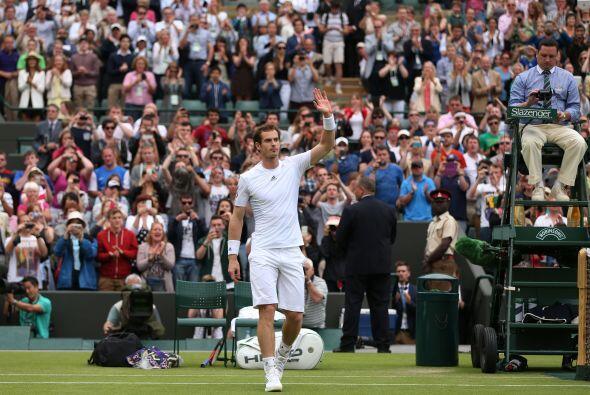Andy Murray no defraudó a su público y avanzó al de...