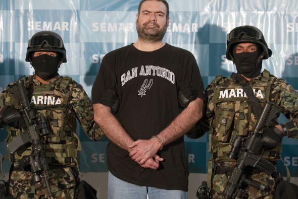 12 de septiembre de 2010: Es detenido Sergio Villarreal 'El Grande', uno...
