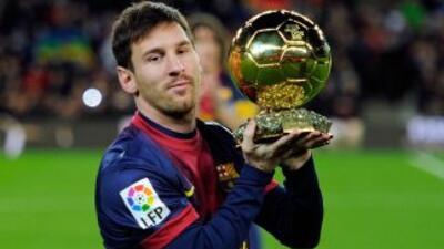 En caso de que la fuente que da como ganador del Balón de Oro 2013 a Mes...