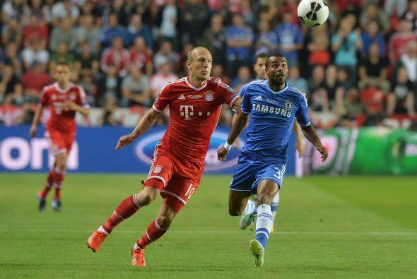 El Bayern lo intentó con mucho toque.