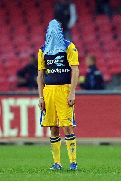 Parma no podía creer que una vez más cayó en el tor...