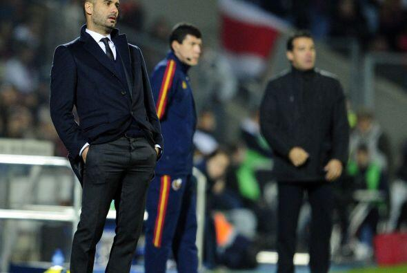 'Pep' Guardiola no paró de dar indicaiones al ver que las cosas no se da...