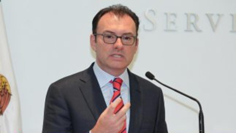Luis Videgaray, el titular de la mexicana Secretaría de Hacienda y Crédi...