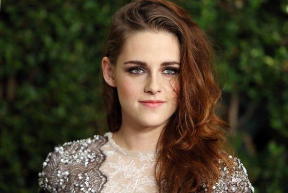 Kristen Stewart, quien protagonizó 'Twilight' junto a Pattinson,...