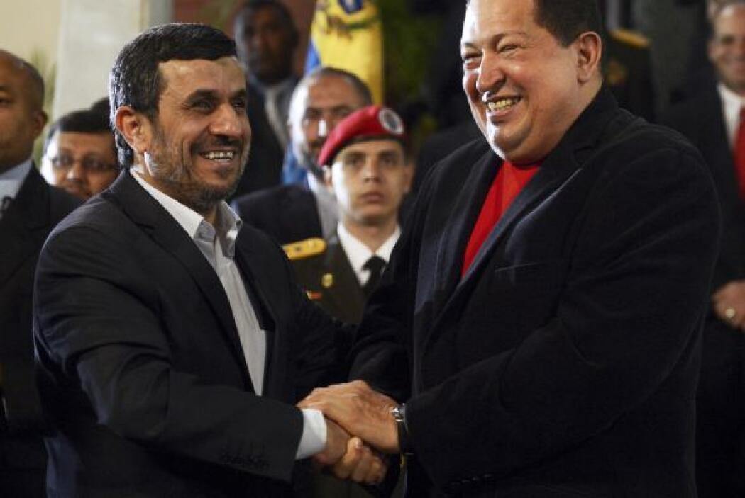 Mahmud Ahmadinejad. Venezuela es uno de los amigos más próximos del pres...