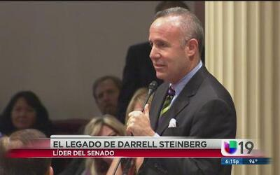 ¡Sorpresa la que se llevó Darren Steinberg!