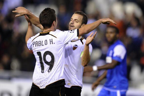 El hombre del juego fue el español Roberto Soldado.