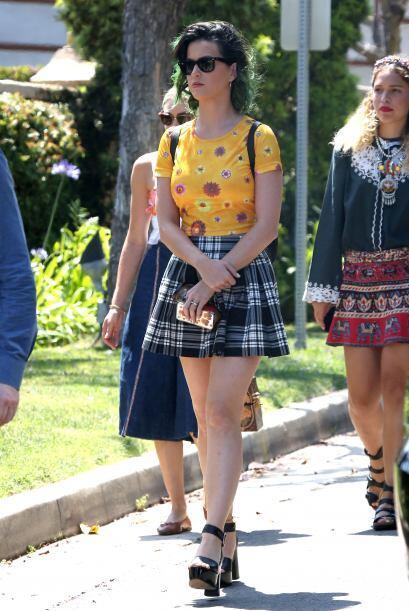 Las piernas que no necesitan presentación son las de Katy Perry....