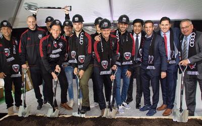 DC United break ground