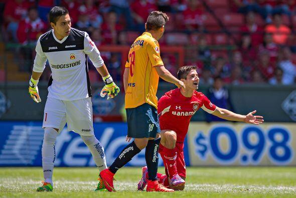 El mejor portero: Felipe Rodríguez. El arquero de Morelia mantuvo en cer...