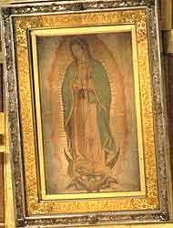 La Virgen de Guadalupe, protagonista en los jardínes del Vaticano 29b079...