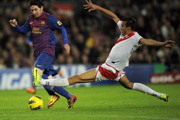 Messi no podía quedarse fuera de las anotaciones y marcó e...