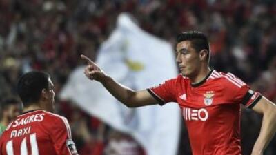 El 'Tacuara' Cardozo convirtió dos goles, importantes en el triunfo de u...