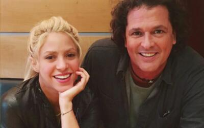 """Carlos Vives y Shakira ya van lejos en su """"Bicicleta"""""""