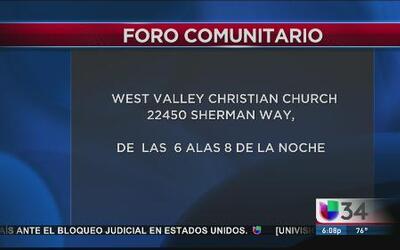 LAPD invita a los hispanos a foro comunitario